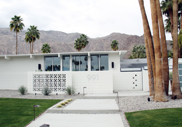 Palm Springs house
