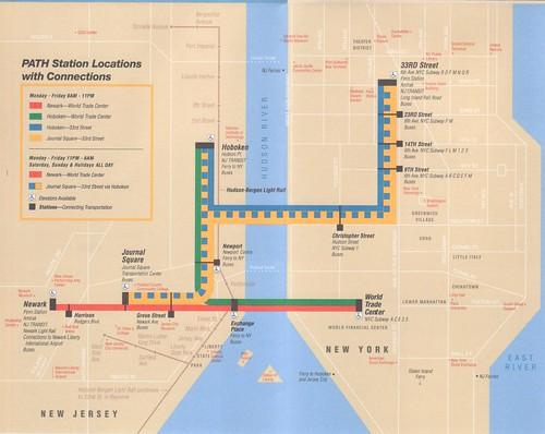 PATH 2011 Map