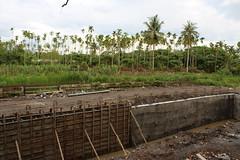 五溝河道拓寬工程,改變原始樣貌。