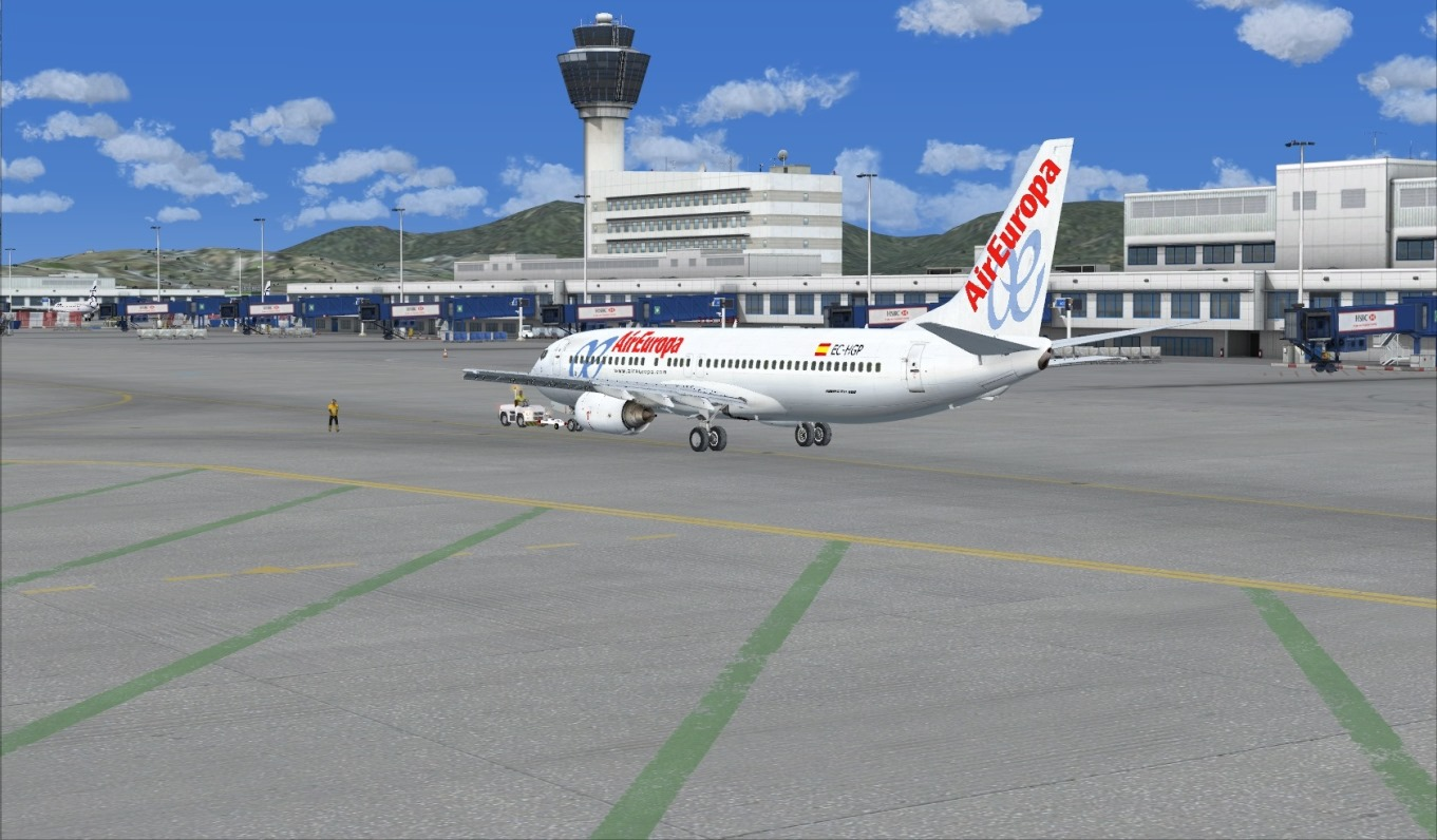 First landing Mykonos 8840679673_8c2656e209_o