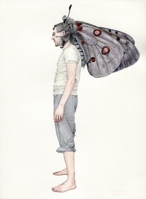 Fabien Merelle, Papillon dans la tete, 2011