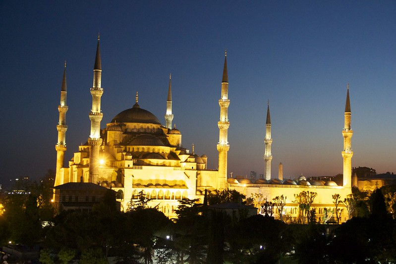 Blue Mosque at Dusk - Week 20