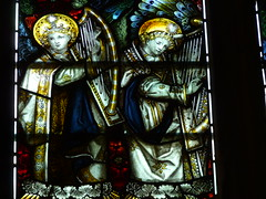 Heavenly Musicians, Kempe's Windows, Wakefield Cathedral