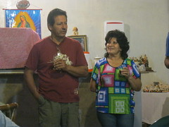 Milton and Norma Aguas – our wonderful hosts for the two weeks we spent on San Cristobal Island