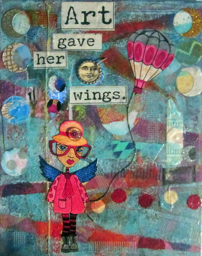 Art Canvas Collage by Gennie59