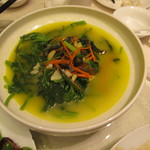 Leafy Greens with garlic and carrots