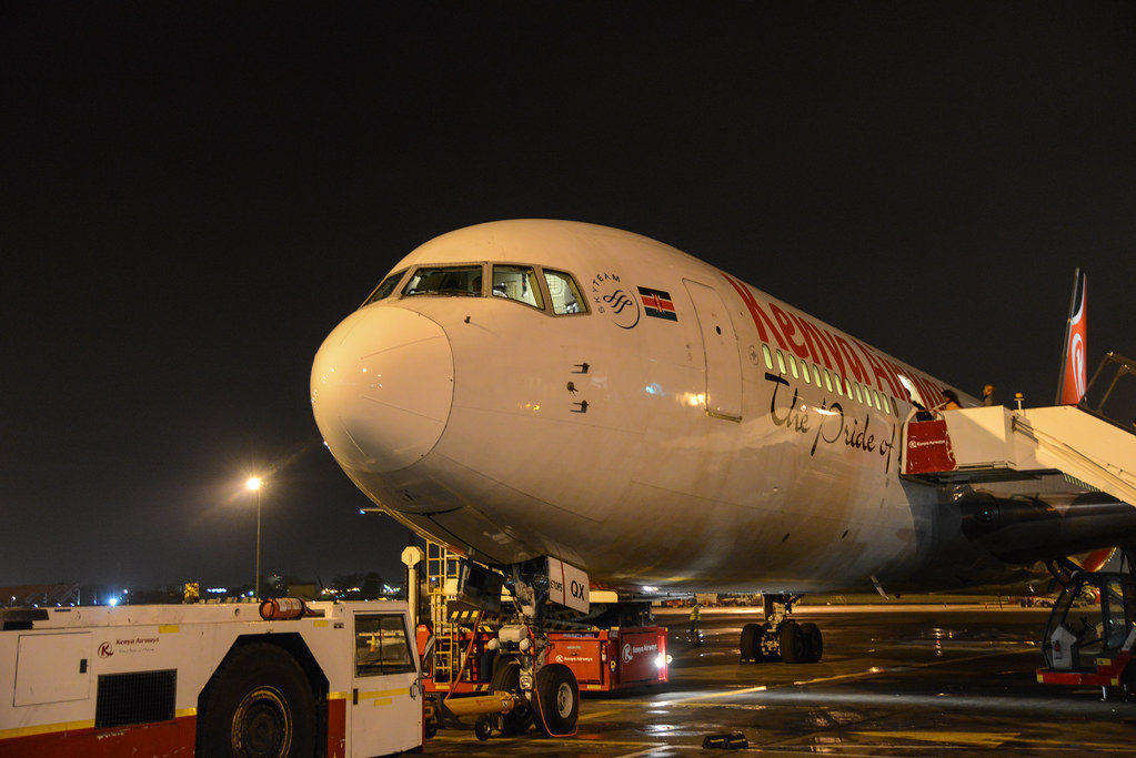 Kenya Airways 763ER 5Y-KQX