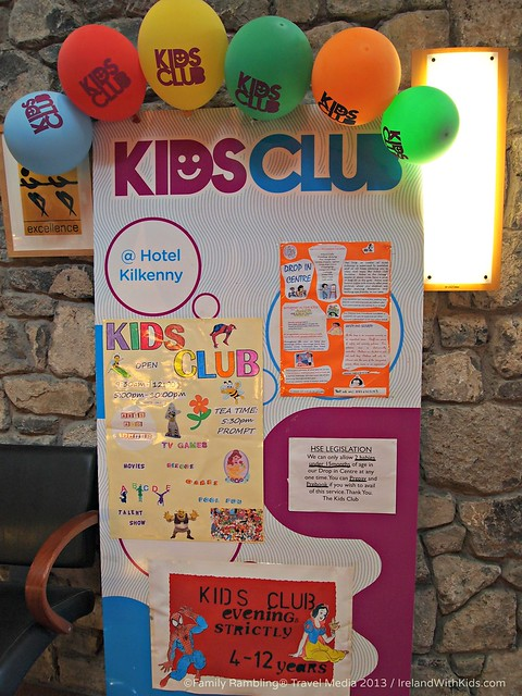 Kids Club at Hotel Kilkenny