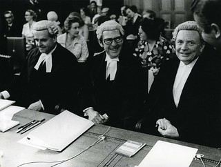 'New Zealand Representatives at the International Court of Justice in the Hague ' by Archives New Zealand