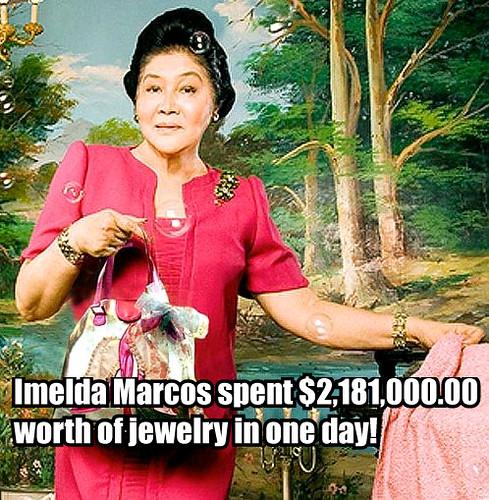 Marcoses plunder and corruption