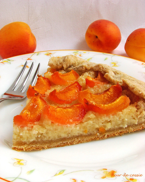 галета абрикосовая с миндальным кремом 3