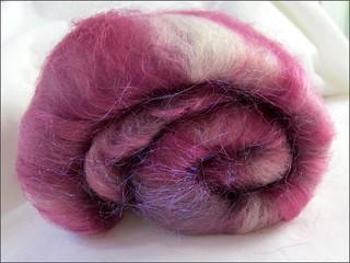 Pink Layered Batt