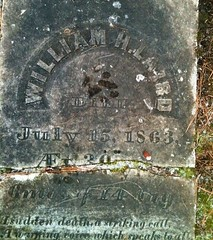 William Laird gravestone
