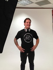 Matt Dean acting model for the EA SPORTS Store