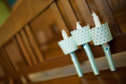 diy candle wax catcher. baptism Personalized Baptism Candles with Wax Catchers Christ the King Church