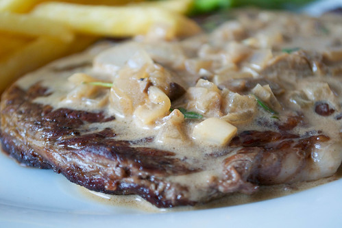 steak with porcini and marsala sauce