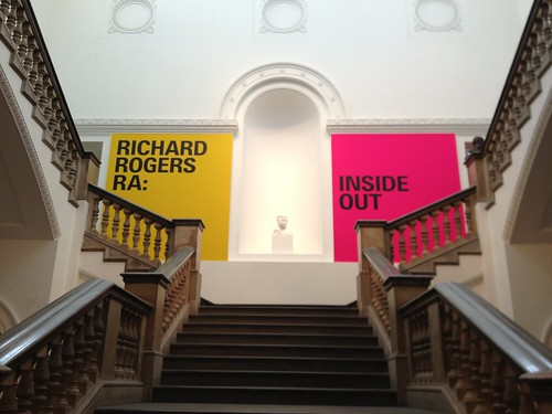 Richard Rogers at the Royal Academy