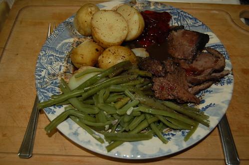 venison dinner Aug 13