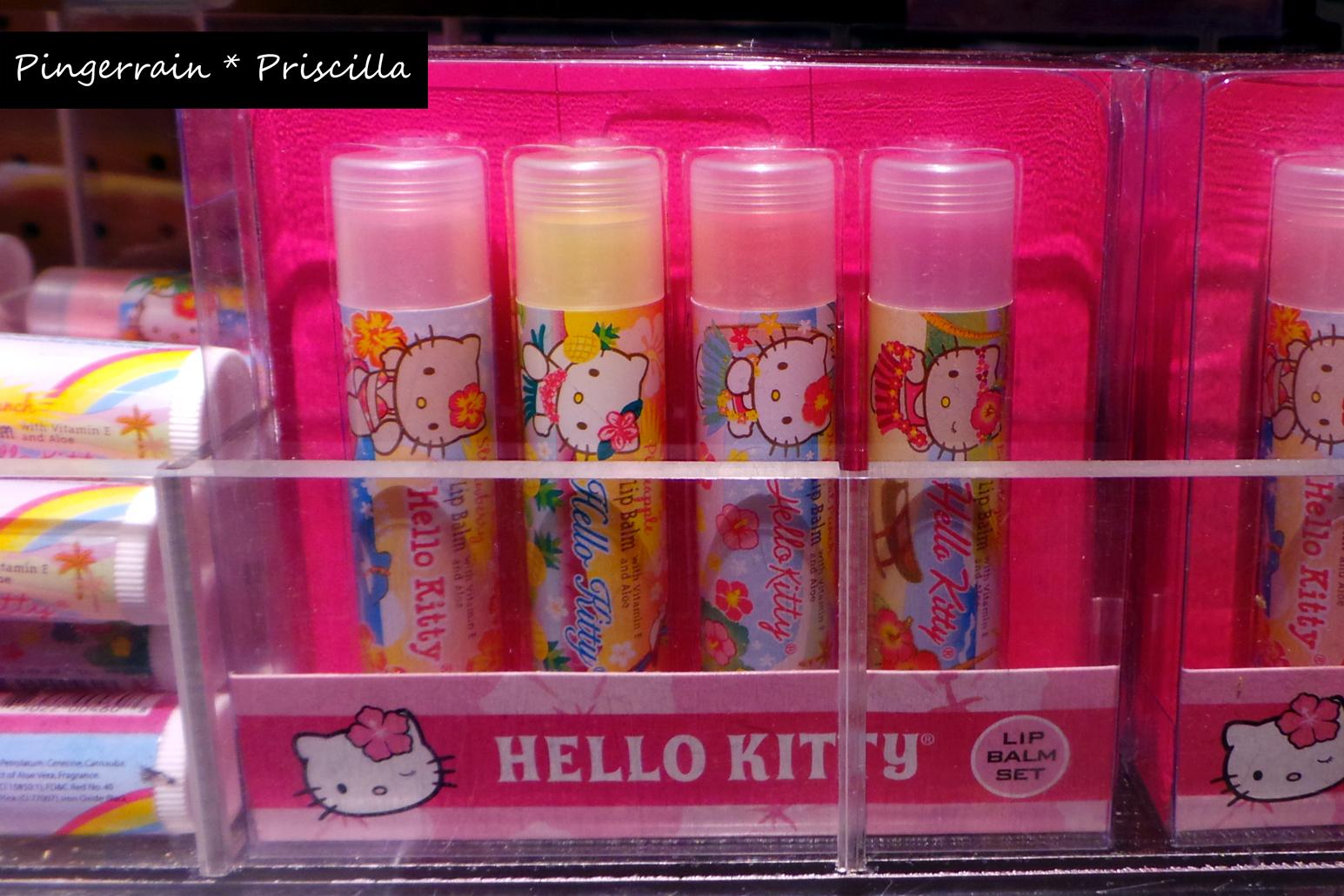 Hello Kitty Lipbalm