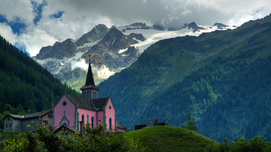 The Swiss Alps - God's Country