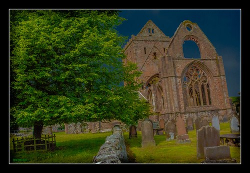 SWEETHEART ABBEY IN NEW ABBEY by régisa