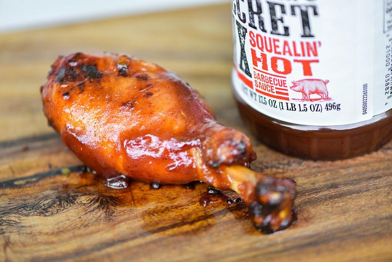 Garland Jack's Secret Six Squealin' Hot Barbecue Sauce