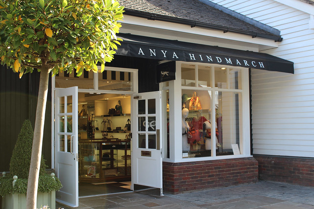 Bicester Village shops Anya Hindmarch