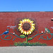 Sunflower Mural by wiredforlego