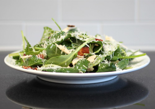 fat angel's baby kale salad, at home (gluten-free) | a sage amalgam