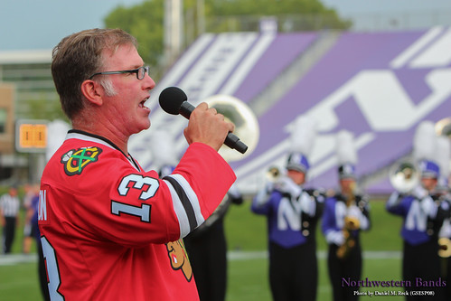 Jim Cornelison Sings with the Wildcat Band