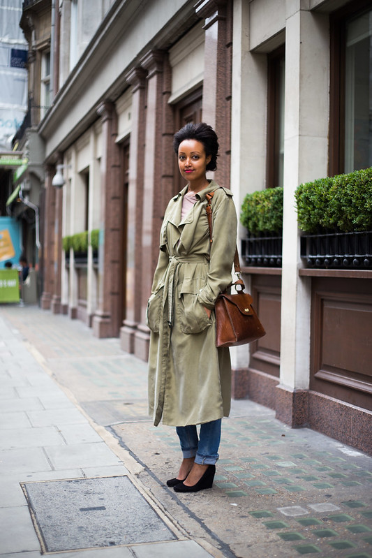 Street Style - Roni, Great Castle Street