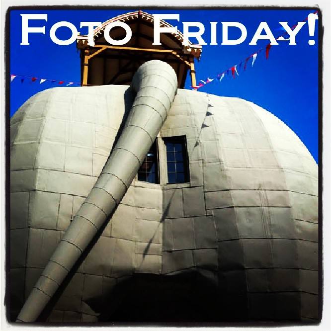 Foto Friday: Lucy the Elephant's Bum in Atlantic City
