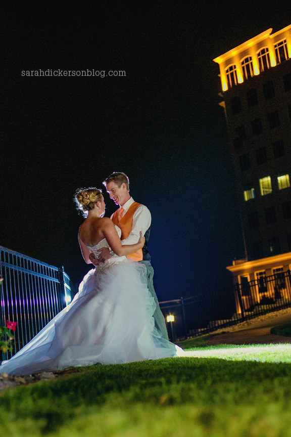 View at Briarcliff Kansas City wedding