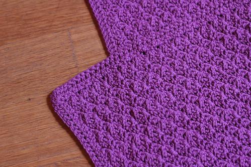 3c couverture au crochet pour mlle c knit spirit. Black Bedroom Furniture Sets. Home Design Ideas