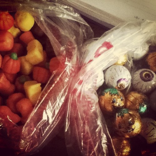 Halloween treats are much needed this week. I'm exhausted.  #pumpkin #eyeball #autumn #halloween #candycorn