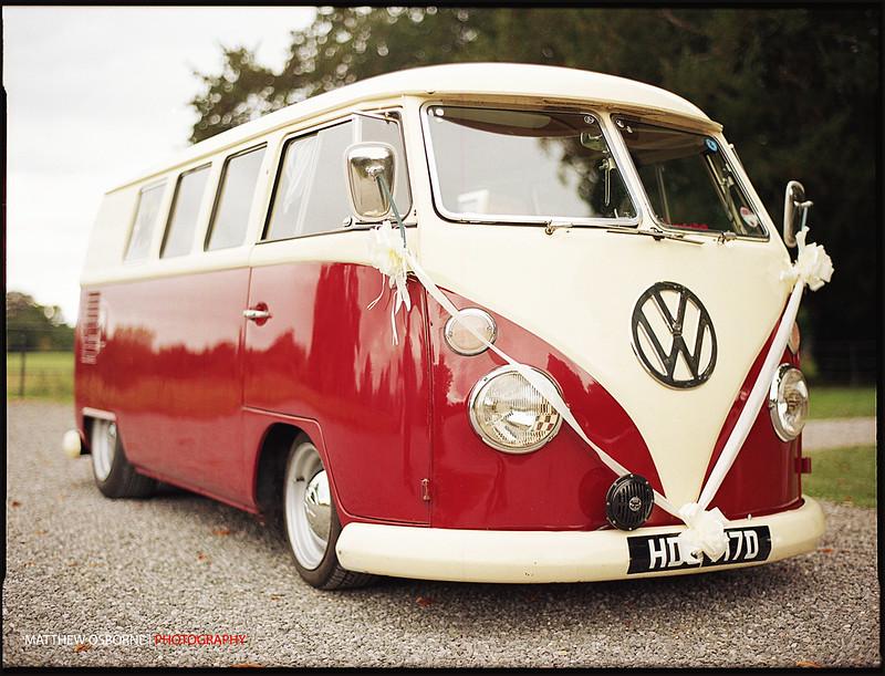 VW Camper Wedding