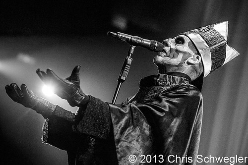 Ghost – 10-13-13 – Hail to the King Tour, Joe Louis Arena, Detroit, MI