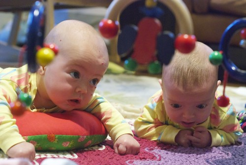 Tummy Time is More Fun with a Friend