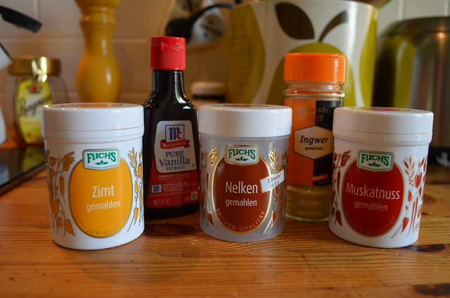 Pumpkin spice syrup spices
