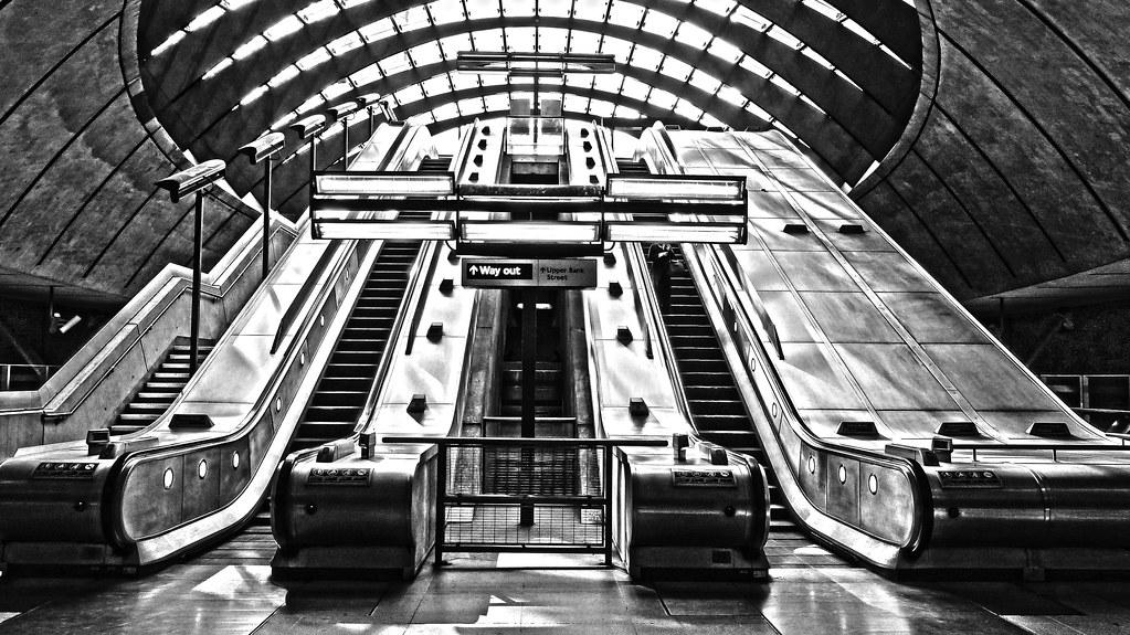 Canary Wharf stairs