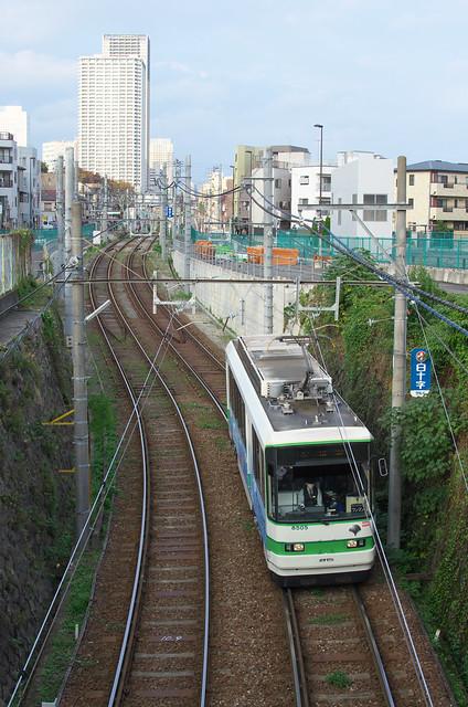 Tokyo Train Story 都電荒川線 2013年11月4日