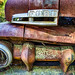 Rusted old pickup truck