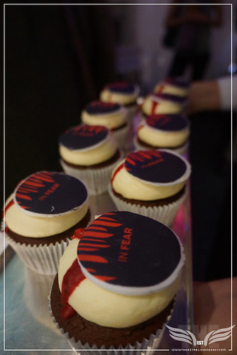 The Establishing Shot: IN FEAR PREMIERE CUPCAKES @ THE ICA PRESENTED BY STELLA ARTOIS by Craig Grobler