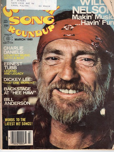 Willie Nelson Making Music Having Fun Country Song Roundup March 1980 Img412