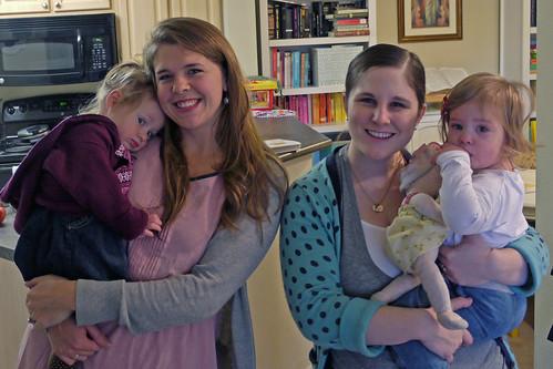 Abigail and Amelia's Visit