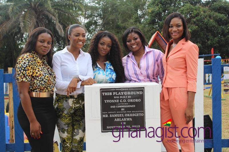 Okudzeto Ablakwa commissions Yvonne Okoro's Play Ground at Dzorwulu Special School