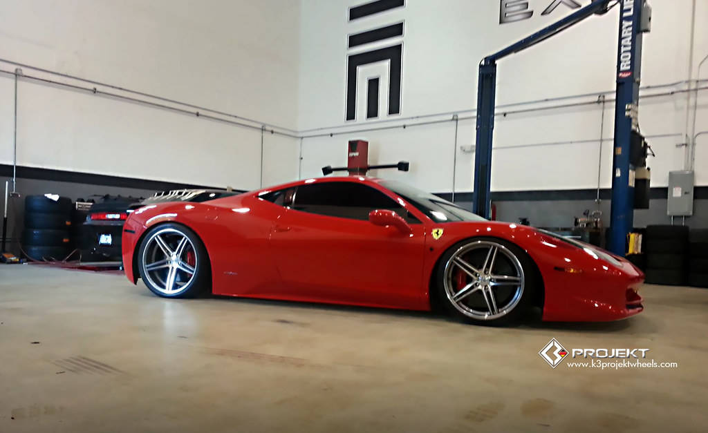K3 Projekt Wheels | Ferrari 458 on our F2 Concave