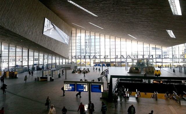 Rotterdam Centraal stationshal