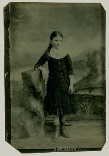 tintype girl