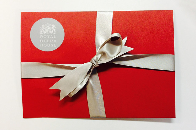 Gift Membership, available from the ROH Shop in time for Christmas © ROH, 2013